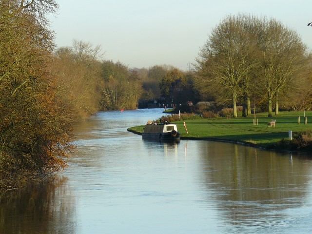 View from the Thames footpath, Abingdon