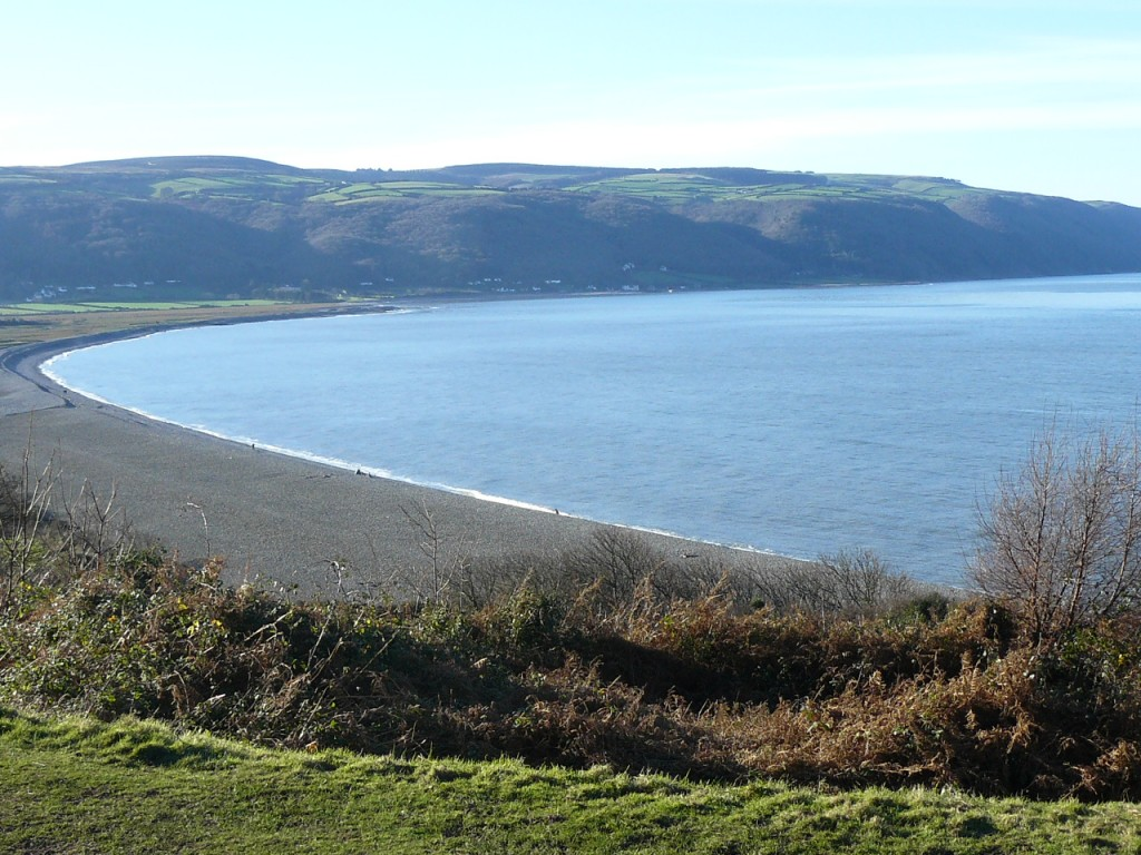 The coastal views of Exmoor