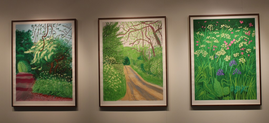 The Arrival of Spring by David Hockney