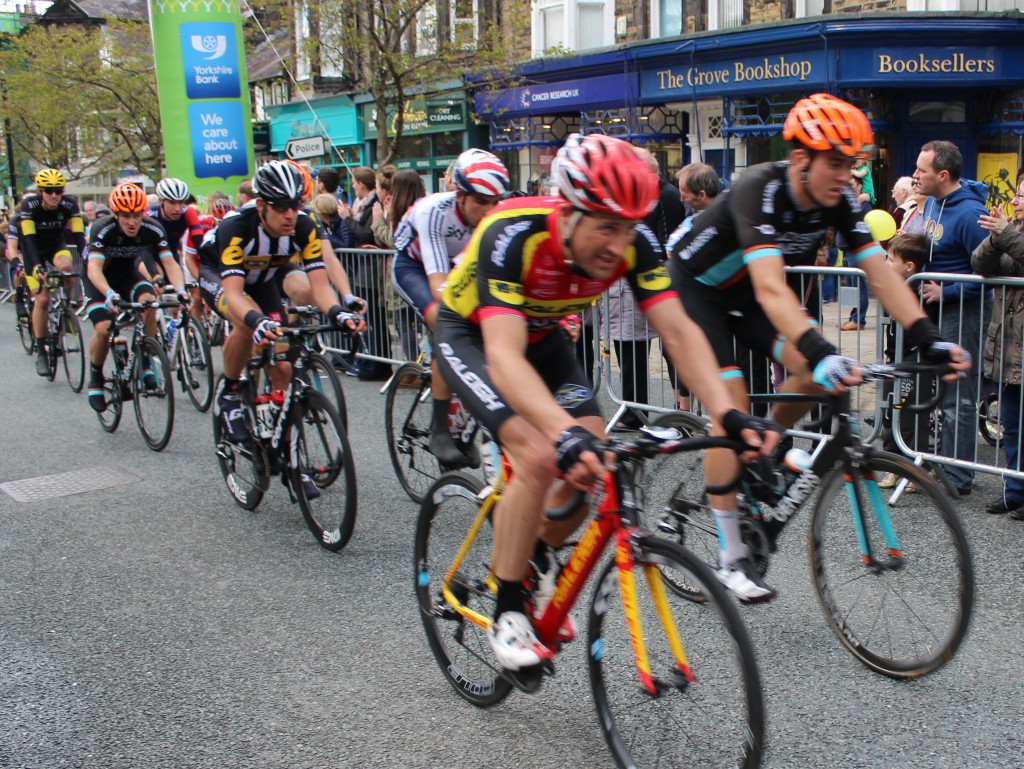 Riders in the Tour de Yorkshire, Ilkley
