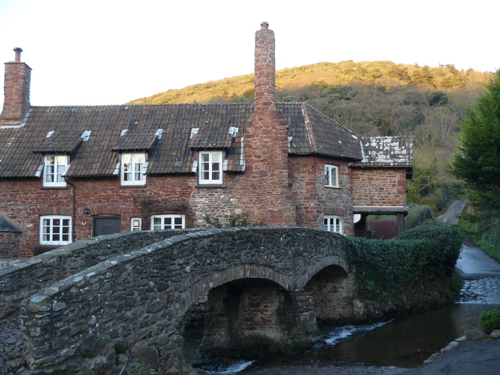Allerford packhorse bridge