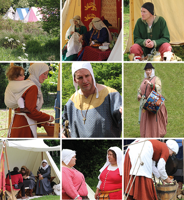 The 13th century brought to life at Odiham castle
