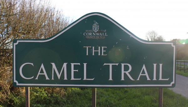 The Camel Trail at Wadebridge